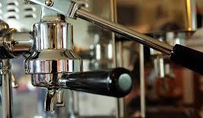 A Close Up Look At Lever Espresso Machine