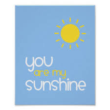 You Are My Sunshine Baby Bedding by You Are My Sunshine Posters Zazzle