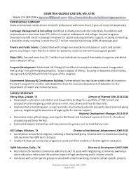 Non Profit Resumes Resume Summary Examples Nonprofit Maker Create Top Conversion Gate Thumbnail Best