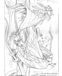 Enchanted Designs Fairy Mermaid Blog Free Coloring Pages By Jody Bergsma
