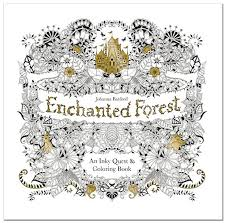 Enchanted Forest Johannas Second Color Book