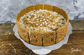 no bake spekulatius torte