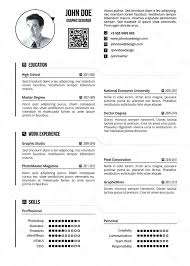 One Page Resume Sample Image Collections Templates Example Best Examples Simple Technical R Medium Size