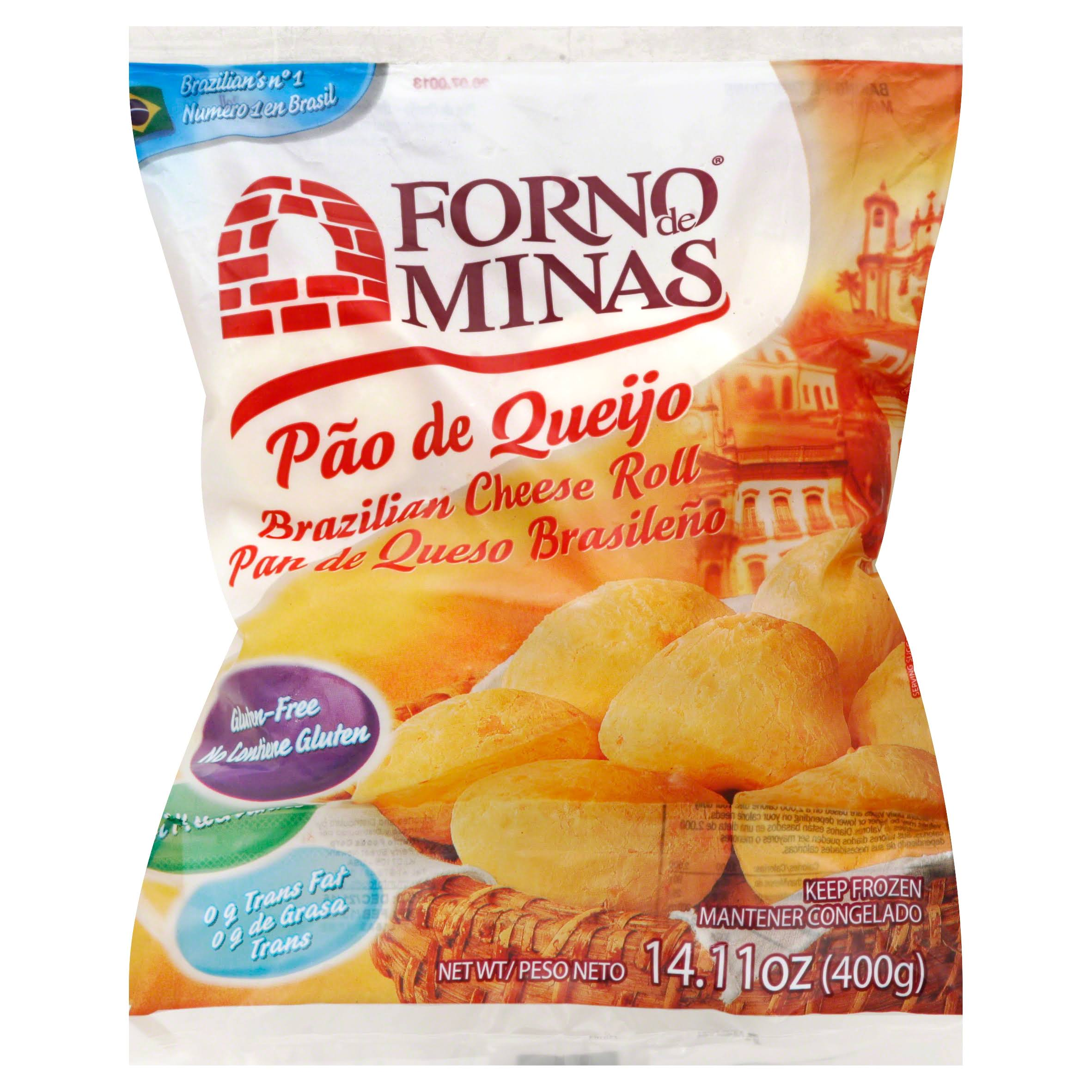 Forno de Minas Cheese Roll, Brazilian - 14.11 oz