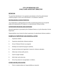 Sample Resume For Babysitting Jobs Beautiful Cover Letter Examples Child Care Proyectoportal