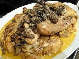 cuisiner les morilles suprêmes de volaille au vin jaune et aux morilles bigmammy en ligne