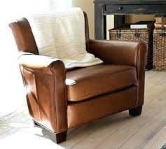 Pottery Barn Leather Chair Pottery Barn Leather Chairs Leather