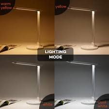 Amazonca Desk Lamps by Taotronics Led Desk Lamp Eye Caring Table Lamps Dimmable Office