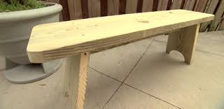 how to build an outdoor bench today u0027s homeowner