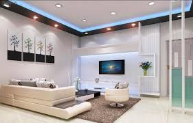 living room low ceiling lights white wooden laminate coffee