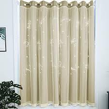 liuzhou 1 stück voile vorhänge transparente gardinen schal