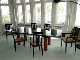 6 original thonet esszimmer stühle schwarz lack