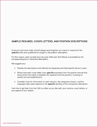 Cover Letter Format Government Job Sample Resume For Employment Beautiful Best