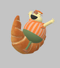 Carl Wheezer Riding On A Croissant By Jacobjohn55
