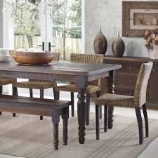 Rustic Round Dining Table Furniture Of America Dark Oak Karl