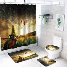 nslw idyllic air ballo auf theme dusche curta in 180 x