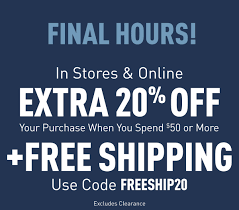 Aéropostale - FINAL HOURS ⏰ 20% Off + Free Shipping On $50 Or More Aeropostale Coupon Codes 1018 In Store Coupons 2016 Database 2017 Code How To Use Promo And For Aeropostalecom Gift Card Discount Replacement Code Revolve Clothing Coupon New Customer Idee Regalo Pasta Di Mais Coupons Usa The Learning Experience Nyc 10 Off Home Facebook Aropostale Final Hours 20 Off Free Shipping On 50 Or More Gh Bass In Store August 2018 Printable Aeropostale