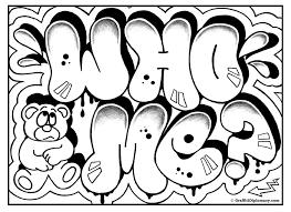 FREE Colorin Page Graffiti Coloring Diplomacy
