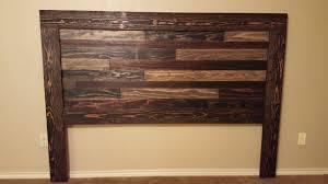 ana white farmhouse faux reclaimed lumber headboard diy projects