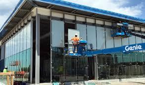100 Evans Glass Cleaner Garmin HQ Construction Phase Panelite