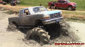 100 Ford Mud Truck GIANT FORD MUD TRUCK GOES SUPER DEEP YouTube