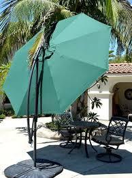 Patio Umbrella Offset 10 Hanging Umbrella by Offset Patio Umbrella Green 10 U0027quality Patio Umbrellas Market