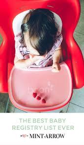 Ikea Potty Chair Vs Baby Bjorn by The Best Baby Registry List Ever Mint Arrow