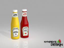 NynaeveDesigns Ketchup And Mustard