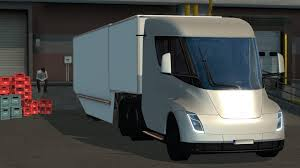 TESLA SEMI TRUCK WITH TRAILER 2019 - ETS2 1.31.X » GamesMods.net ...
