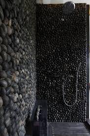 how to clean pebble tec floor river rock showers tile guard