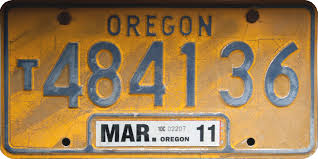 File:Oregon Truck License Plate 01.jpg - Wikimedia Commons