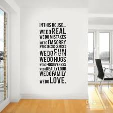 decorative words for walls yw1044 60 80cm wall words lettering saying wall decor sticker