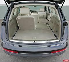 volume coffre x5 7 places audi q7 7 places volume coffre voiture galerie