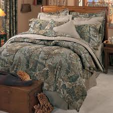 Ducks Unlimited Bedding by New Shadow Grass Camo Bedding By Mossy Oak Cabin Place