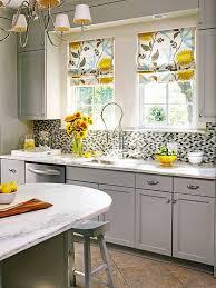 Retro Grey And White Kitchen