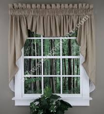 Country Curtains Greenville Delaware by Renaissance Emery Lined Swag Set 45