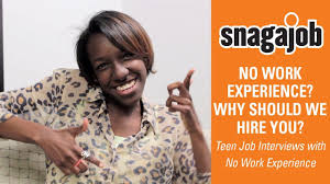 No Work Experience? Why Should We Hire You? Teen Job Interviews With ...