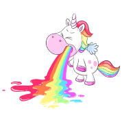Unicorn Puke A Rainbow