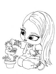 99 Ideas Baby Doll Coloring Page On Gerardduchemann