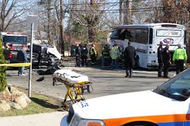 100 Truck Launch Maniac 2 Driver Dead After Truck Slams Into Coach USA Bus