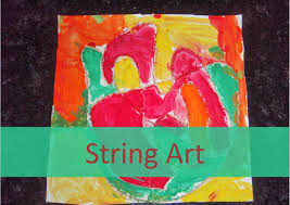 Try Adding Different Textures Too String Art Activity For Kids