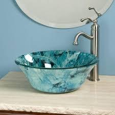 Home Depot Vessel Sink Stand by Sinks Silver Glass Vessel Sink Black Hammered Bathroom Silver