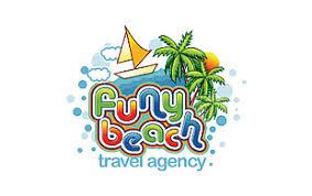 Funy Beach Modern Logo Design