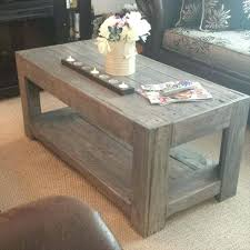 Coffee Tables Made Out Of Pallets S With