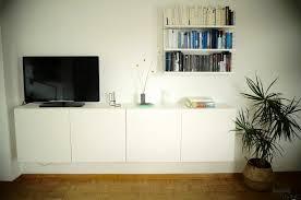 diy schwebendes sideboard plus string regal im wohnzimmer