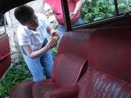 reparation siege cuir auto rénover un cuir droit et