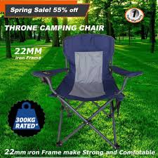 300kg Rated Folding Camping Arm Chair Portable Outdoor Garden ... Z Lite Folding Chairs Sports Directors Chair Camping Summit Padded Outdoor Rocker World Lounge Zero Gravity Patio With Cushion Amazoncom Core 40021 Equipment Hard Arm Gci Freestyle Rocking Paul Bunyans High Back Lawn Duluth Trading Company Kids White Resin Lel1kgg Bizchaircom For Heavy People Big Shop For Phi Villa 3 Pc Soft Set Ozark Trail Xxl Director Side Table Red At Lowescom