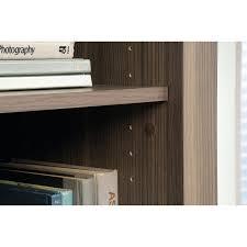 Shoal Creek Desk In Jamocha Wood by Sauder Shoal Creek 3 Shelf Library Bookcase With Doors Jamocha