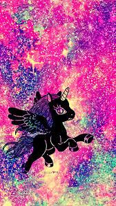 Rainbow Unicorn Galaxy Wallpaper Androidwallpaper Iphonewallpaper Sparkle Glitter