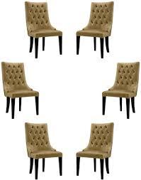 casa padrino luxus barock esszimmer stuhl set gold schwarz silber 54 x 55 x h 110 cm edle küchen stühle mit samtstoff barock stühle 6er set